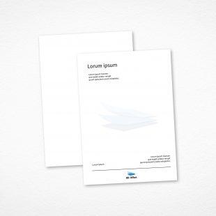 Bestil professionelt brevpapir med dit logo
