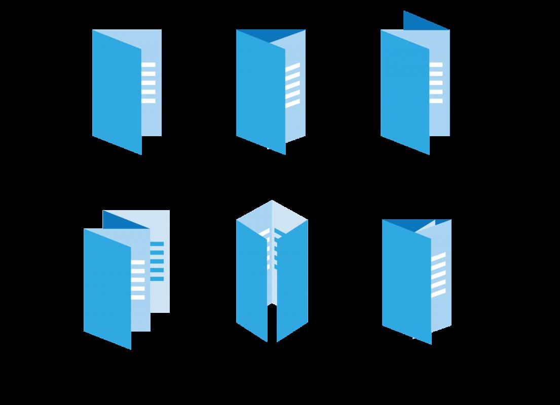 Tryk af foldere i mange formater og størrelser hos BR Offset