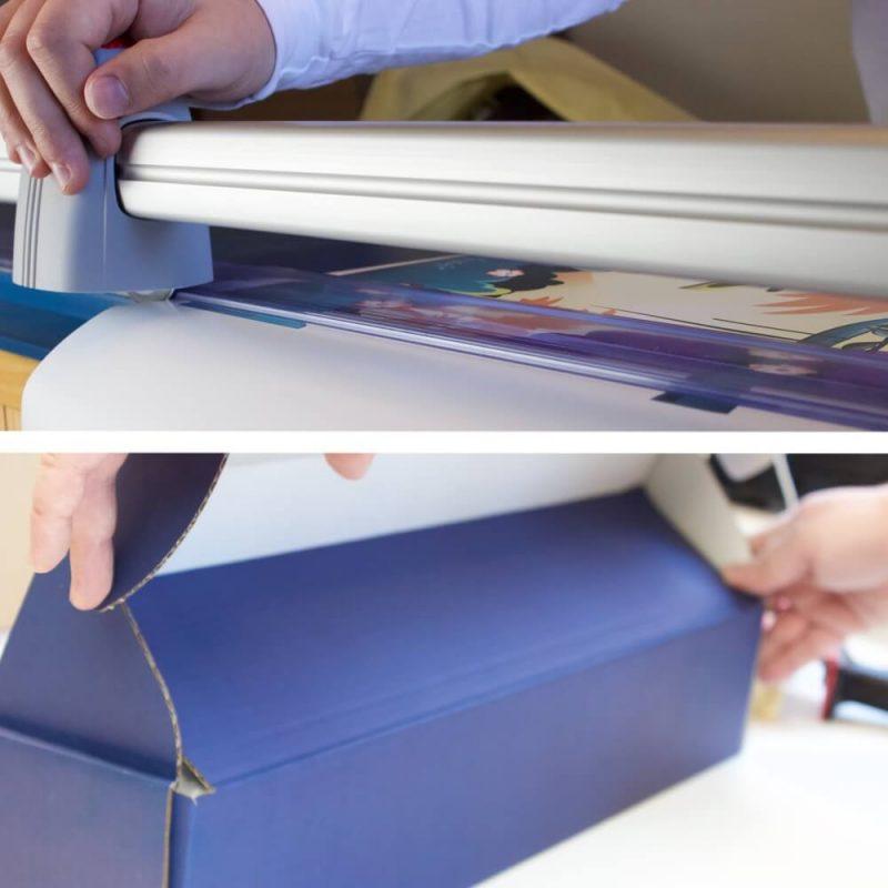 Vi skærer dine plakater i hånden og minimerer antallet af fejl