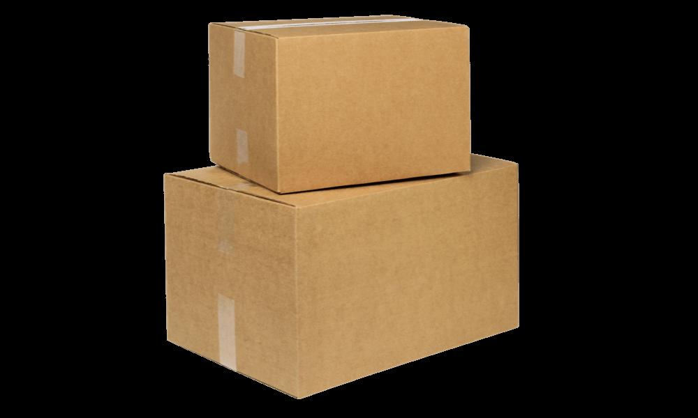 Vi leverer dine visitkort i miljøvenlig emballage