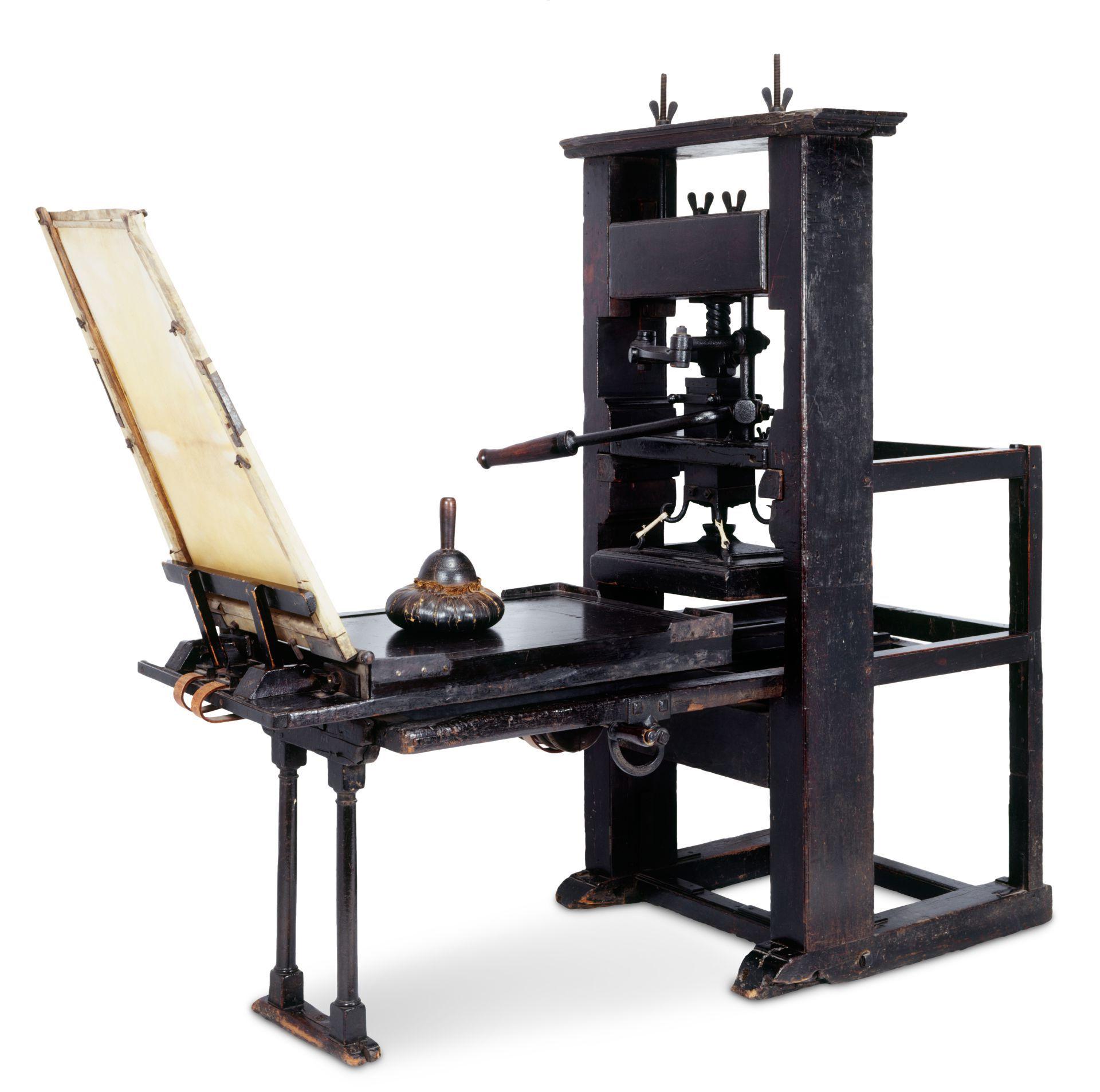 gutenberg-trykpresse