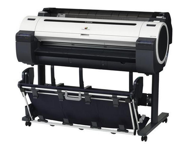 Canon-iPF770 bruger vi til at trykke store formater