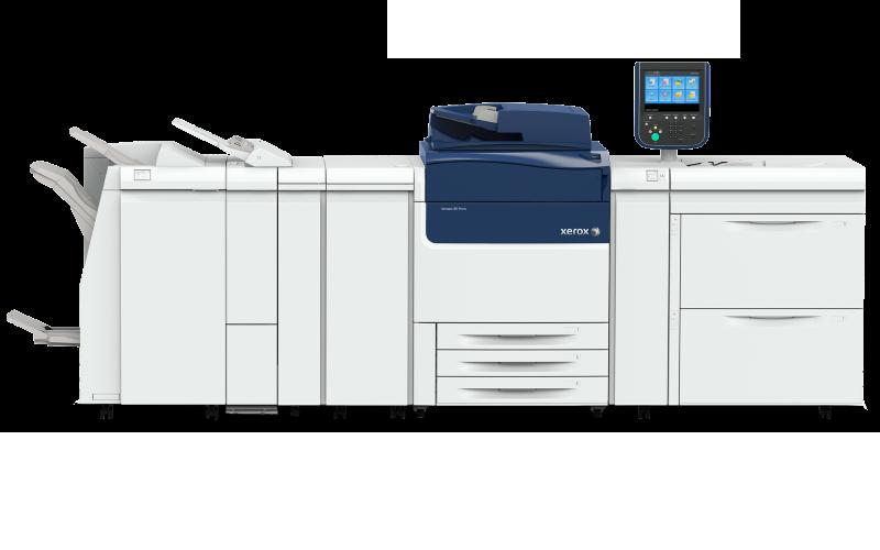 Xerox Versant 180 er vores største trykmaskine til professionelle og billige tryksager