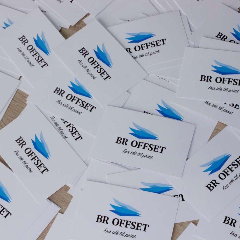 Få printet dine visitkort i Odense